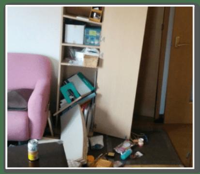 家具の破損