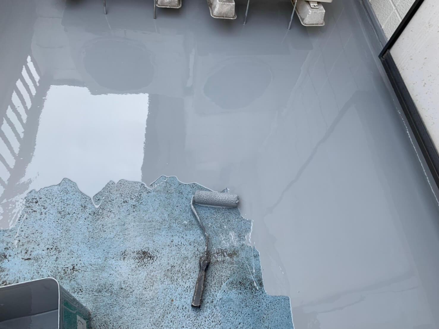 さいたま市の防水工事施工前