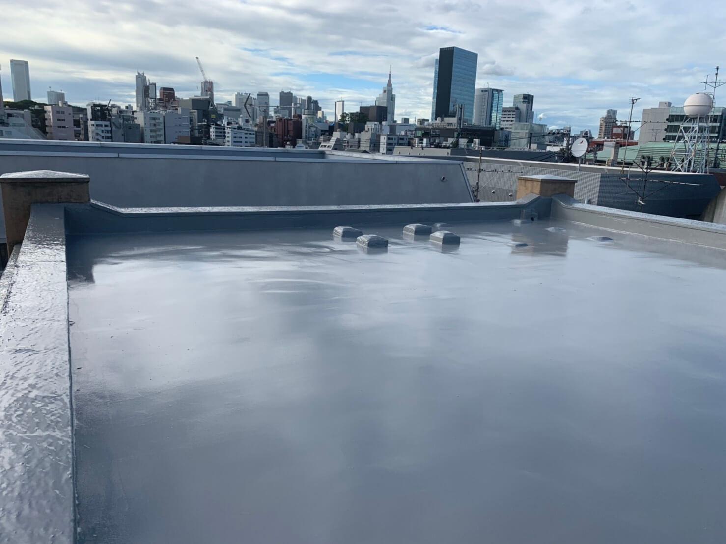 渋谷区で火災保険を活用した防水工事アフター