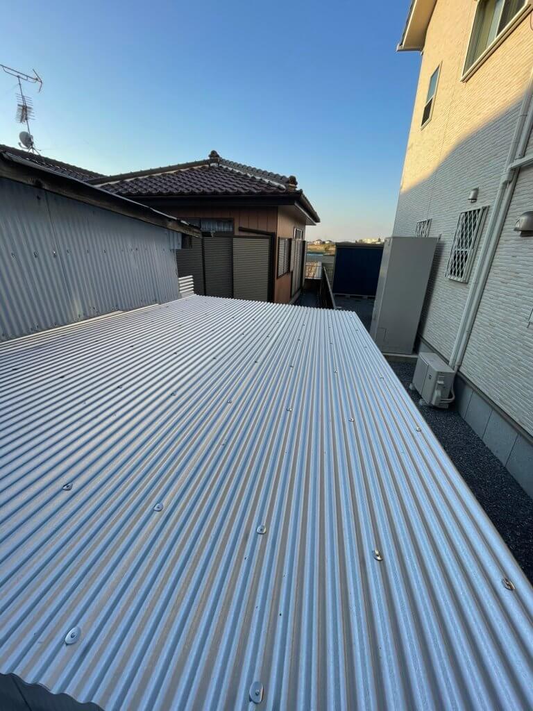 トタン屋根の張り替え