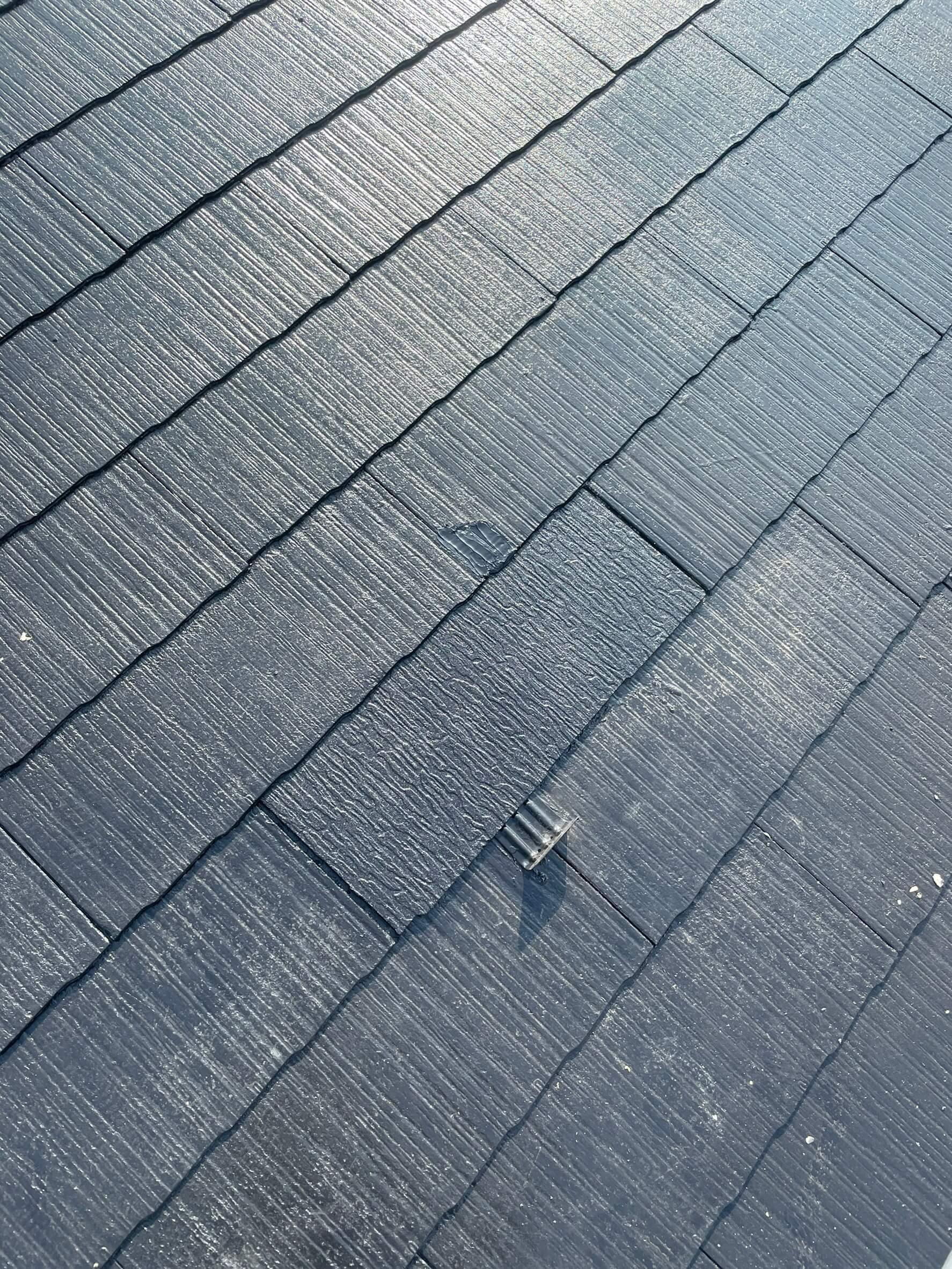 スレート屋根の差し替え完了