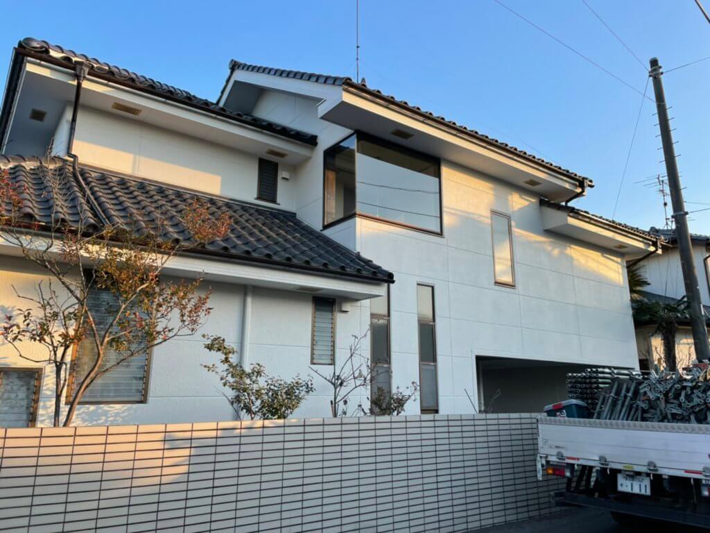 埼玉県久喜市で外壁の塗り替え工事