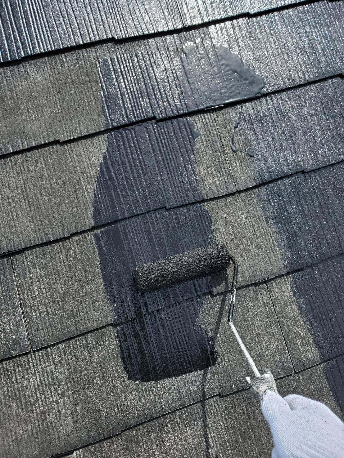 雨樋と屋根塗装